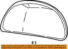 FORD OEM Door Side Rear View-Mirror Cover Cap Trim Right F7TZ17D742BB