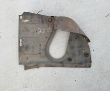1956 56 Ford Victoria Tudor Left Front fender well Splash Shield oem fomoco.