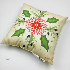 Nicholas Square 'Let's Stay Home /& Cuddle' Mini Christmas Throw Pillow St