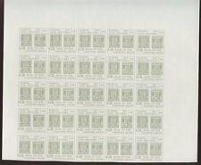 Channel island 1971 post strike EUROPA livraison du courrier gris 3/6 preuve bloquer 25