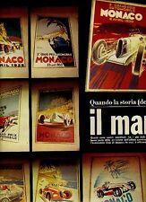 W35 Ritaglio Clipping 1974 Manifesti storici GP di Montecarlo Auto Club Monaco
