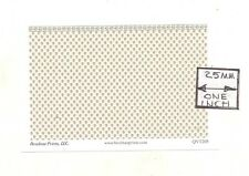 "O (1/48) Scale CHEROKEE ROSE Wallpaper model miniature 3pcs 4.25 x 2.75"" QVT205"