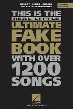 The Real Little Ultimate Fake Book 4th Edition Sheet Music 6 inch x 9  000240027