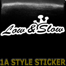 Low and Slow ADESIVI Low & Slow Sticker telaio filettatura SPORT TELAIO GOLF KONI