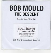(DQ683) Bob Mould, The Descent - 2012 DJ CD