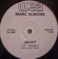 "MARC ALMOND ~ Jacky / Deep Night ~ 12"" Single PROMO"