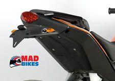 KTM Duke 125 200 390 R&G Kennzeichenhalter Nummernschild hinten