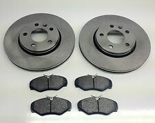 RENAULT TRAFIC FRONT BRAKE DISCS & PADS 1.9 DTi 2.0 DCi 2.5 DCi 01> ON