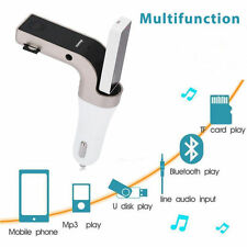 LCD MP3 Player Radio Adapter Kit Charger Bluetooth Car FM Transmitter Hands-free