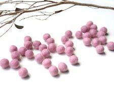 1cm LIGHT PINK Felt Balls x50.Wool.Party Decor.Pom poms.Felt Ball.Wholesale.