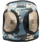 American River Choke Free Blue Camo Dog Harness Camouflage Collection - XXS-3XL