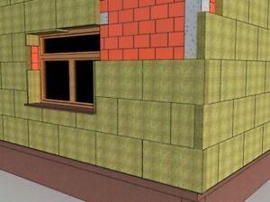Rockwool Steinwolle Putzträgerplatte WDVS Fassadendämmung