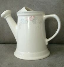Pfaltzgraff Wyndham watering can pitcher vase - estate sale