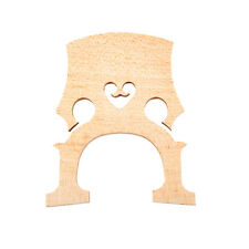 Cello Bridge (4/4 Full Size) Fine Aged Maple Wood French Style For Cello Strings