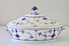 Royal Copenhagen Blue Fluted Plain - 1st Quality - 283 - Covered Casserole Dish