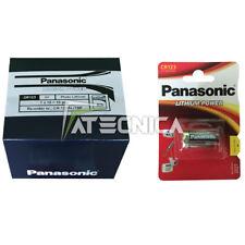 10 batería baterías Panasonic CR123 3V Litio DL123A CR123A EL123A sensores