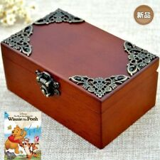 Vintage Wooden  ♫ Winnie The Pooh ♫ Classic Rectangle jewelry Music Box