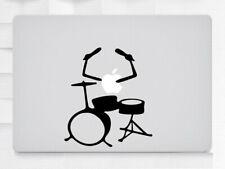 Drum Kit Laptop MacBook iPad Tablet NoteBook Sticker Decal Vinyl Skin