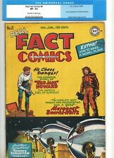 Real Fact Comics #8 2ND APPEARANCE of TOMMY TOMORROW 1947! DC VF- 7.5 was CGC 'd