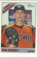 2015 Topps Heritage Minor League #160 Tim Berry  Bowie BaySox