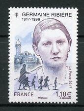 France 2017 MNH Germaine Ribiere WWII WW2 Jewish Children Rescue 1v Set Stamps