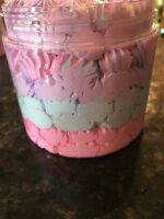 """Whipped Body Bath & Shave Soap """"Cotton Candy"""" 16oz"""