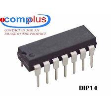 2x MC14024BCP IC-DIP14  ASYN NEGATIVE EDGE TRIGGERED 7-BIT UP BINARY COUNTER