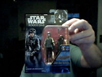 DISNEY STAR WARS SERGEANT JYN ERSO ROGUE ONE FIGURE FREE UK CHRISTMAS POST