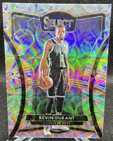 Kevin Durant 2019-20 Panini Select Scope Prizm Premier Level Card #191