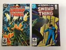 SWAMP THING #20 & #21 (JAN 1984) DC. TWO ISSUE LOT, HIGH GRADE