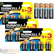24 x DURACELL MX1500 LR6 MIGNON ULTRA POWER AA SIZE 1.5V ALKALINE BATTERIES 5+3
