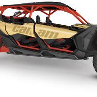 Can-Am Black Rock Sliders 715003730 for 2018-2020 Maverick X3 Max OEM