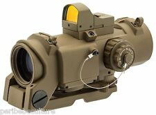 POINT ROUGE NP PHANTOM F DR 4 X 32 TAN et DOT SIGHT