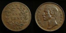 Sarawak - Cent 1870 Charles J. Brooke Rajah