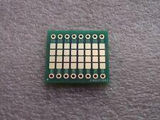 8x Adapterplatine 1206 Länge 8 auf Raster 2,54mm (0.9) V1.0 FR4 (ENIG)