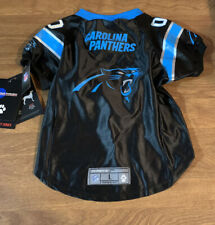 NEW NFL Licensed Carolina Panthers Dog Pet Football Jersey Shirt Size Large L