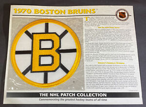 Willabee & Ward NHL Official Patch 1970 Boston Bruins