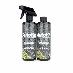 AutoKit Tar and Glue Remover Car Wax Paint Prep Car Cleaning Adhesive 1 Litre