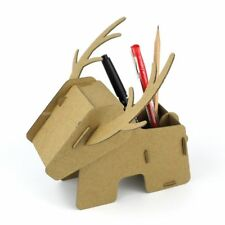 3D Jigsaw Puzzle - Deer Pen Holder - Educational cardboard Activities for Kids