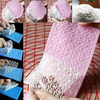 Baking Tools Lace Silicone Mold Mould Sugar Crafts Fondant Pastry Mat Cake Decor