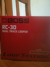 Boss RC-30 Dual Loop Station Pedal SUPER OFFERTA!!!