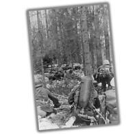 "War Photo German combat engineers soldier flamethrower Glossy Size ""4 x 6""inch U"