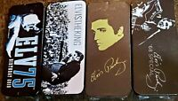 4 Different Elvis Presley Guitar Pick Collectible Tins SEALED With Picks Dunlop