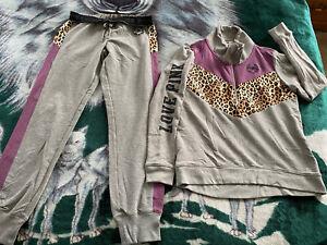 Nwots Victoria's Secret PINK Sweatshirt/sweatpant Set Small Adorable