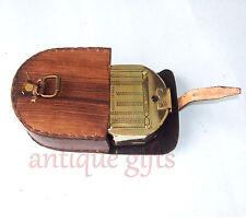 Kelvin & Hughes London 1917 Antique Nautical Brass Brunton Compass
