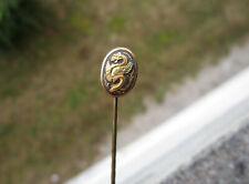 Ancienne superbe épingle à cravate en or de Tolède dragon ailé, en bon état.