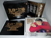 Lupin the 3rd III Third Anime SOUNDTRACK CD ORIGINAL BOX 1991 5Disk