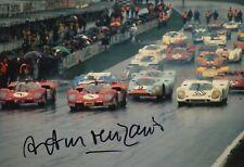 Arturo Merzario Firmato a Mano 12x8 FOTO FERRARI LE MANS 4.