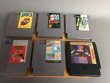 NES Nintendo Game Lot Ultra Metal Gear Super Mario Bros 3 Jordan Vs Bird
