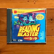 DAVIDSON Reading Blaster Ages 6-9 CD ROM - WIN & MAC